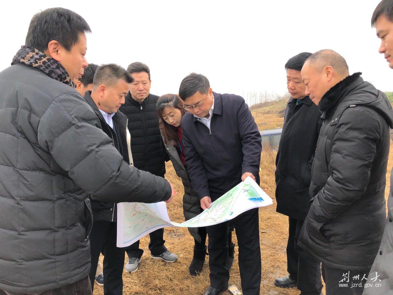 在荆部分省人大代表调研铁路建设