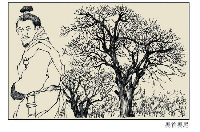 畏首畏尾 - 西部落叶 - 《西部落叶》· 余文博客